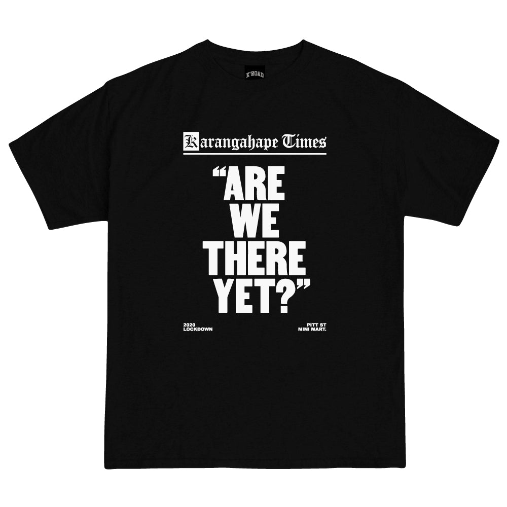 Mini Mart Are We There Yet? Tee - Black