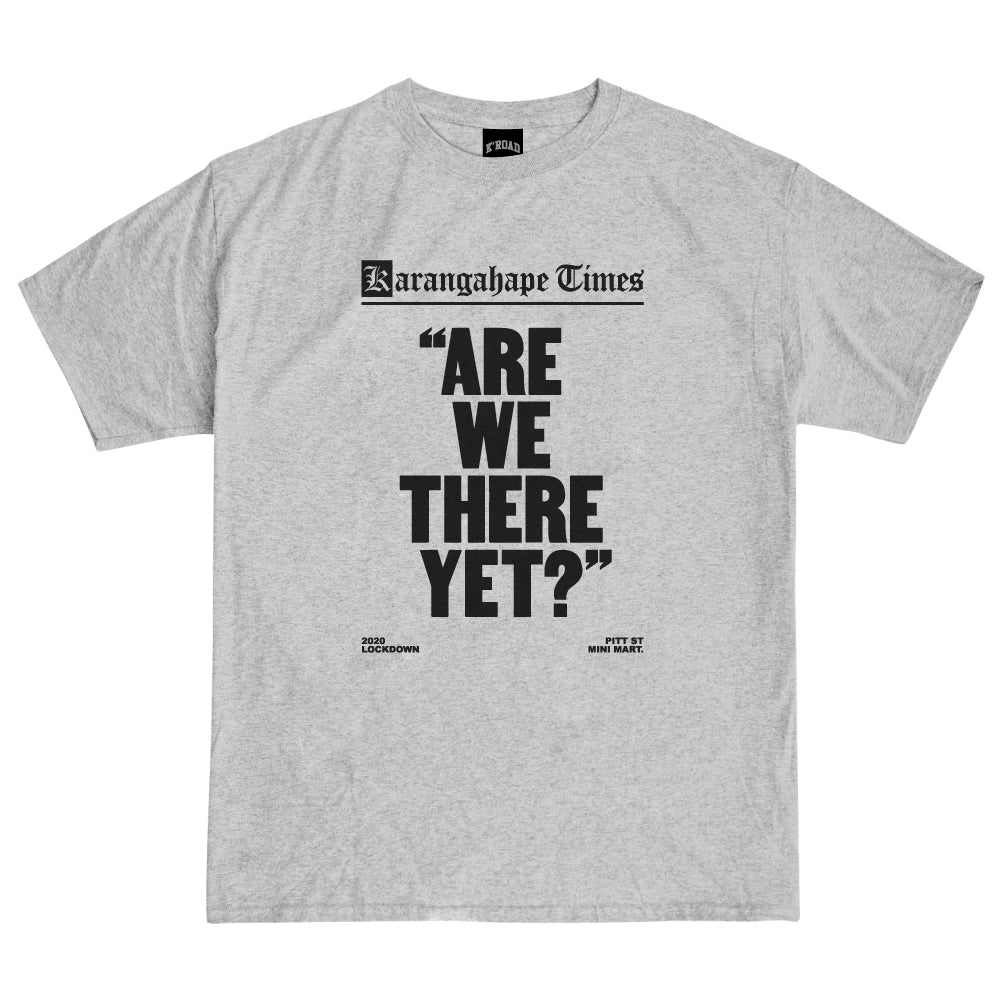 Mini Mart Are We There Yet? Tee - Heather Grey
