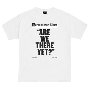 Mini Mart Are We There Yet? Tee - White
