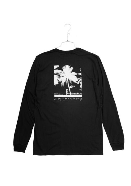 Fucking Awesome Never Enough Longsleeve Tee - Black (C1)