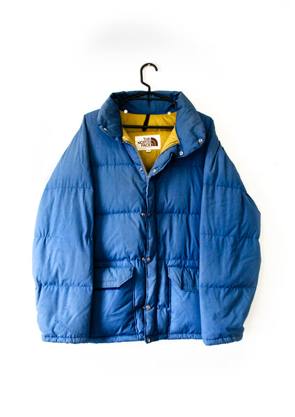 The North Face Blue Puffer Jacket - Medium