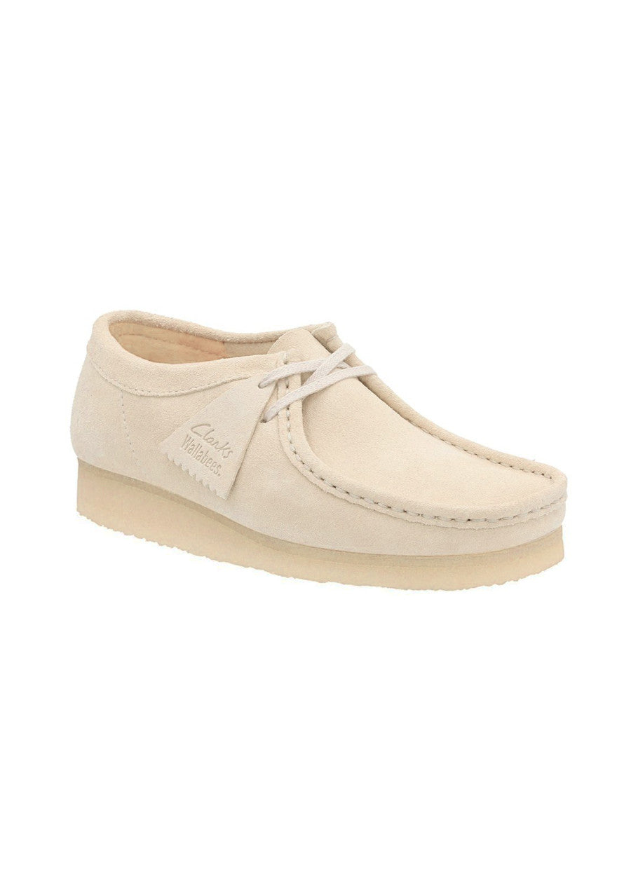 Clarks Wallabee Suede - Off White
