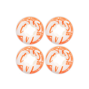 OJ From Concentrate Hardline 101a Skate Wheels - 52mm