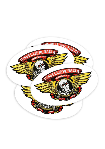 Powell Winged RIP Sticker - Large