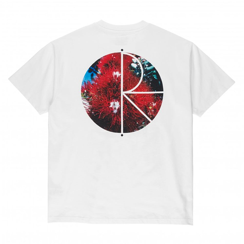 Polar Callistemon Fill Logo Tee - White