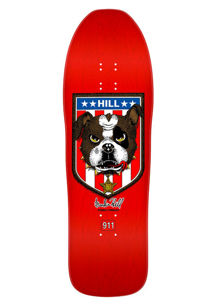 Powell Peralta Hill Bull Dog Re-Issue Deck - 10""