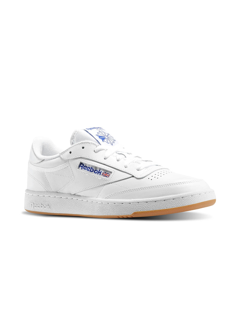 Reebok Club C 85 - White / Royal / Gum
