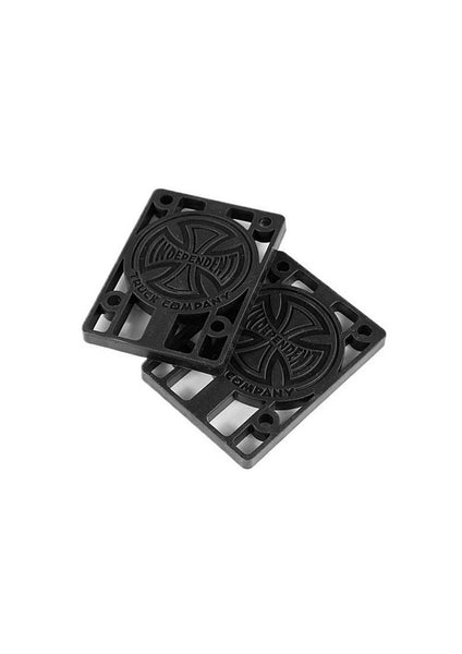 Independent Black Riser Pads - 2 Sizes