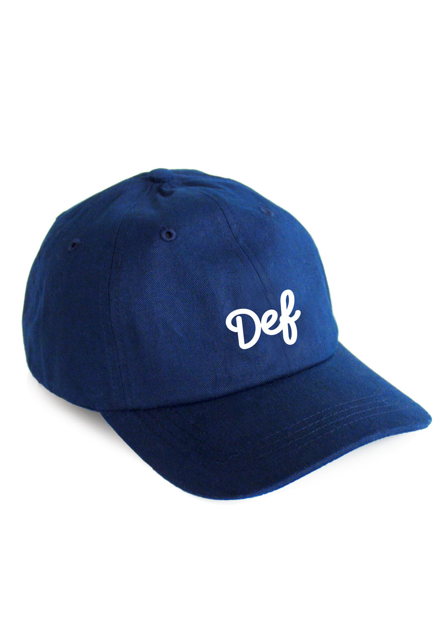 Def Signature Hat - Royal Blue