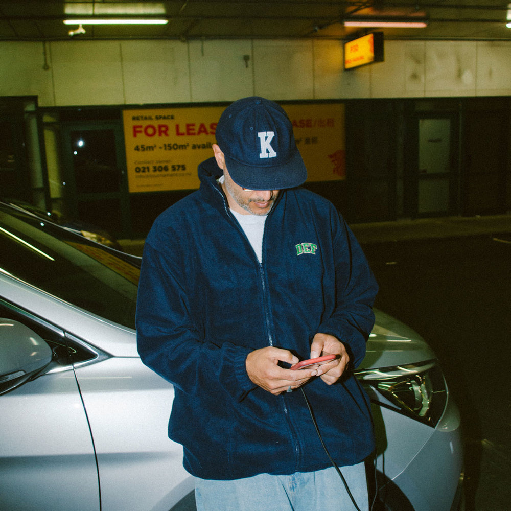 Load image into Gallery viewer, Def Super Zip Polarfleece - Navy