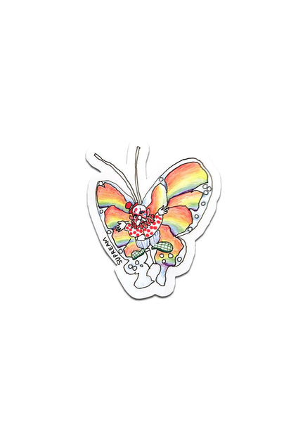 Supreme Gonz Butterfly Sticker