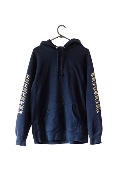 Supreme Arc Navy Hood - Large