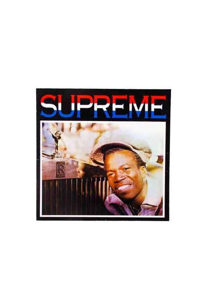 Supreme Young 50 Cent Sticker
