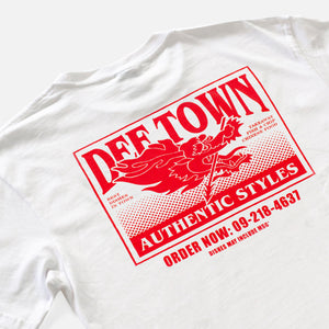 Load image into Gallery viewer, Def Takeaway Tee - White