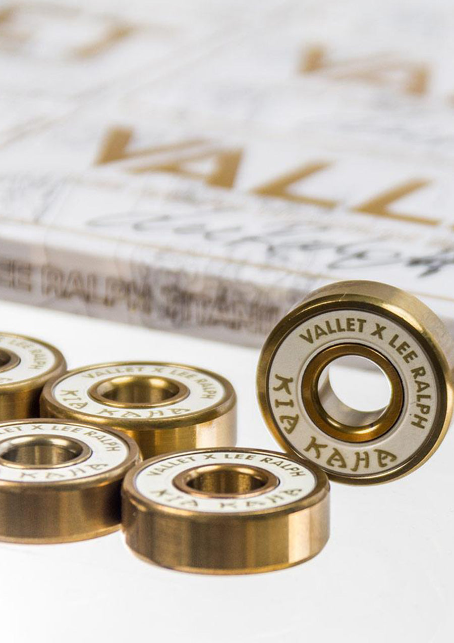 Vallet x Lee Ralph Titanium Bearings