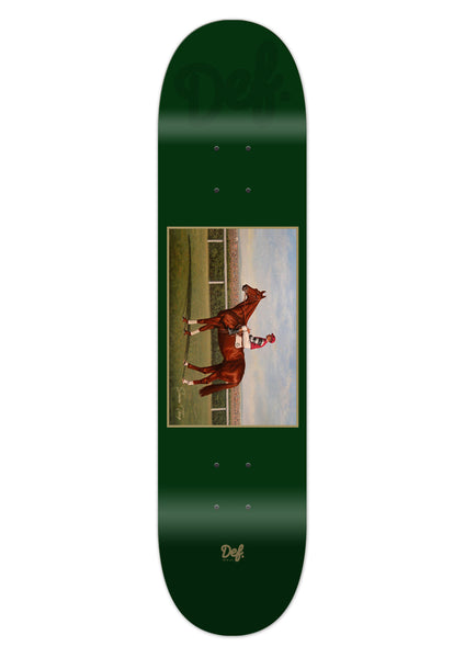Def Workhorse Thorp Trophy Pro Deck - Forest Green