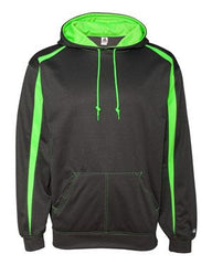 Badger - Pro Heather Fusion Performance Fleece Hooded Pullover. 1467