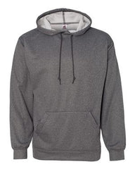 Badger - Pro Heather Hooded Sweatshirt. 1450
