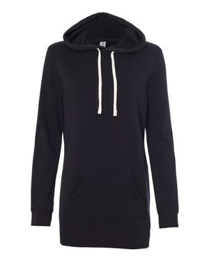 Independent Trading Co. - Women's Special Blend Hooded Pullover Dress. PRM65DRS