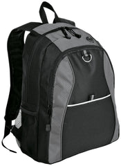 Port & Company Improved Contrast Honeycomb Backpack. BG1020