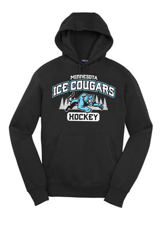 ICE COUGAR - new design! (2017)  Sport-Tek Pullover Hooded Sweatshirt. ST254