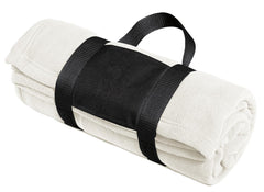 Port Authority Fleece Blanket with Carrying Strap. BP20