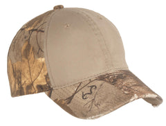 Port Authority Camo Cap with Contrast Front Panel. C807