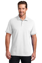 District Made Mens Stretch Pique Polo. DM325