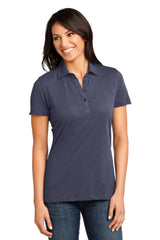 District Made - Ladies Slub Polo. DM450