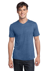 District - Young Mens Textured Notch Crew Tee. DT172