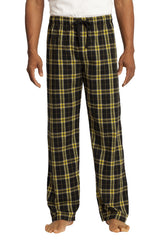 District - Young Mens Flannel Plaid Pant. DT1800