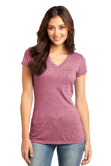 District - Juniors Microburn V-Neck Tee. DT261