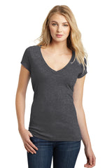 District Juniors Very Important Tee Deep V-Neck. DT6502