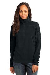 Eddie Bauer - Ladies 1/4-Zip Grid Fleece Pullover. EB221
