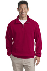 Port Authority Flatback Rib 1/4-Zip Pullover.  F220