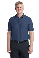 Port Authority Horizontal Texture Polo. K514