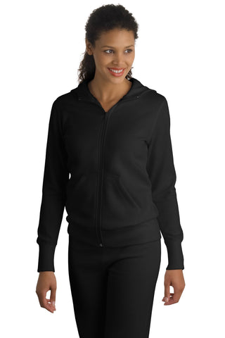 Sport-Tek Ladies Full-Zip Hooded Fleece Jacket. L265