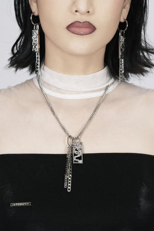 Dragon Kill Silver Chain Necklace