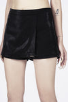 Madame Angelina Black Skirt Shorts
