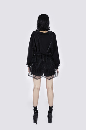 Ms Exec Semi-sheer Jacket