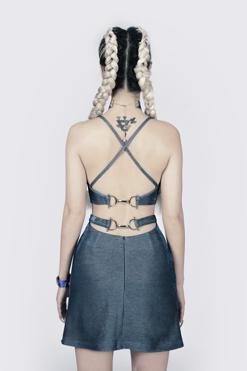 Lady Luck Cut-out Skirt