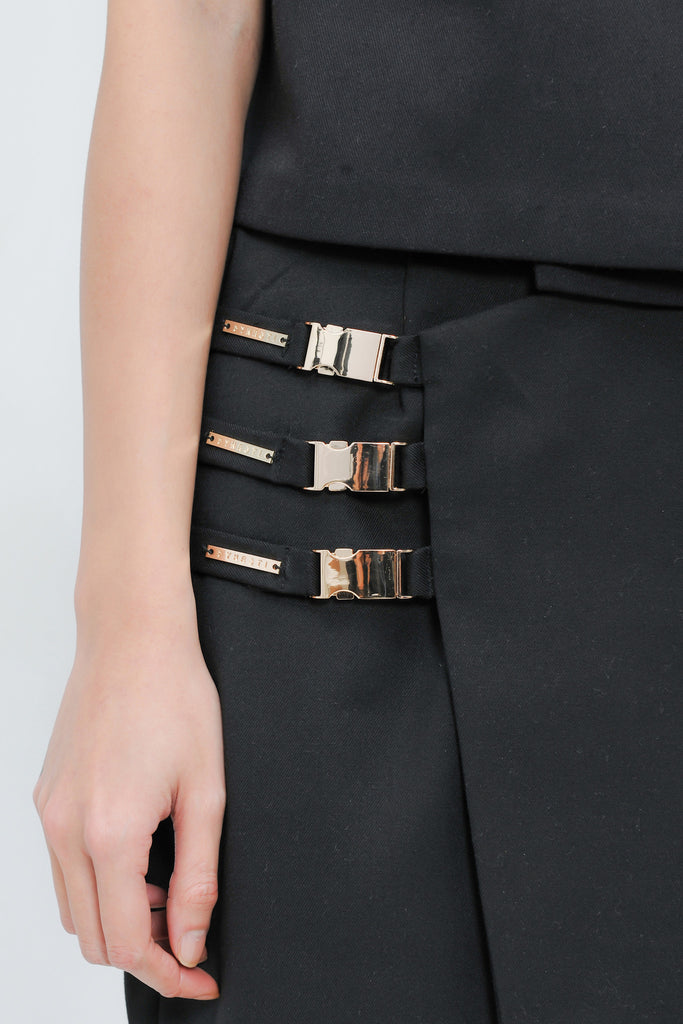 The Good Lady Buckled Skirt
