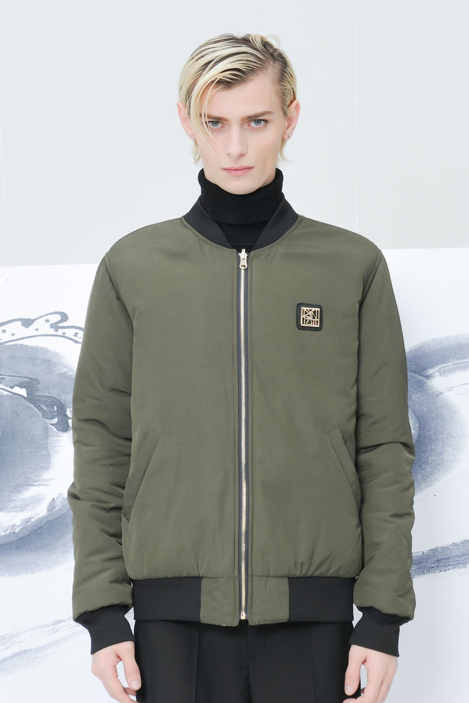 Dynasti x Caratoes Olive Reversible Bomber