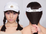 Two-way Dragonball Cap/Visor in White