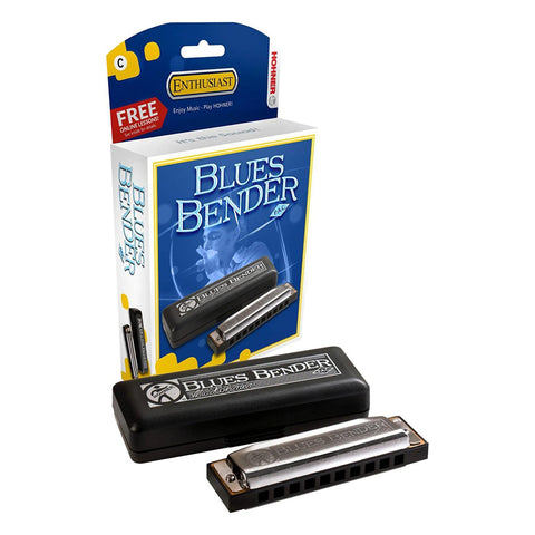 HOHNER BLUES BENDER, KEY G + HOHNER MINI 107