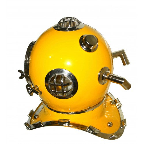 Anchor Yellow Diving Helmet