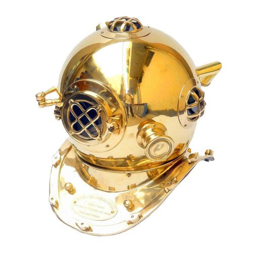 Boston Brass Diving Helmet