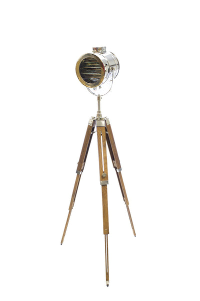 Callista Vintage Spotlight Cinema Floor Lamp