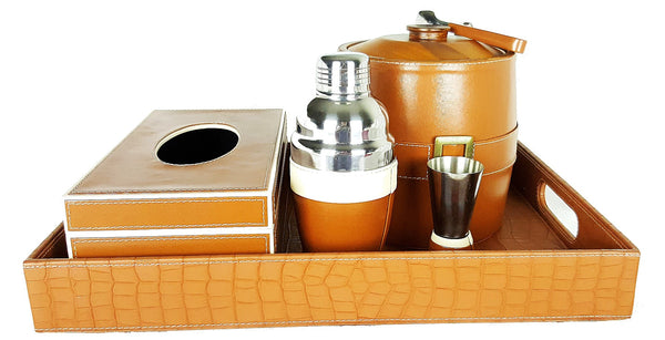 Mount Abu Leather Drinks Serving Suite