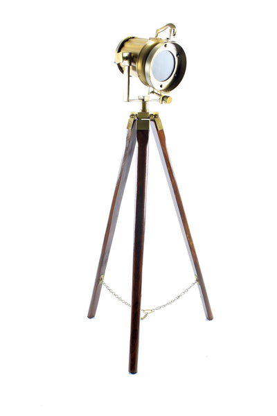 Small Tripod Lamp Beautiful design Unique Look Waist High Color LED Globe